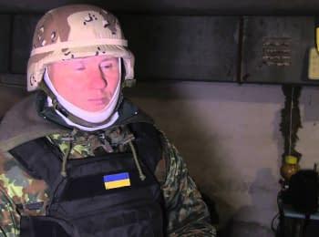 "Боец полка ""Азов"" ""Маэстро"" о ситуации на передовой возле Широкино"