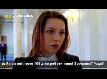 Как депутаты оценивают 100 дней работы новой Верховной Рады