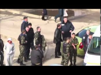 The detention of a man who blew up a grenade in Dnepropetrovsk 03.08.15