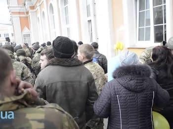 Бойцы 72-й отдельной механизированной бригады прибыли в Белую Церковь