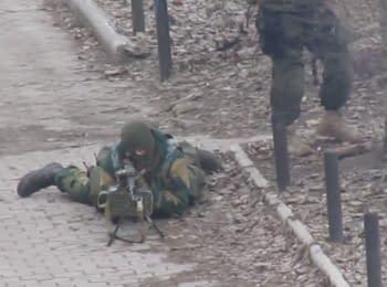 Сутички між угрупованнями бойовиків в Макіївці
