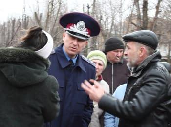 Начальник Донецької обласної УМВС зустрівся з мешканцями Костянтинівки