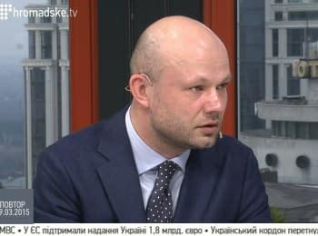 """""""Будьте міцні, будьте єдині, ми з вами"""" — повноважний міністр Посольства Литви в Україні"""