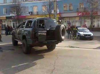 ДТП за участю двох танків в Макіївці