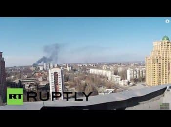 Донецьк. Вид на аеропорт