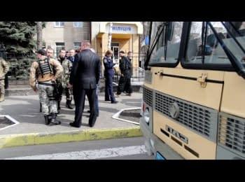 Кременчуцькі міліціонери повернулися на ротацію із бунтівної Костянтинівки