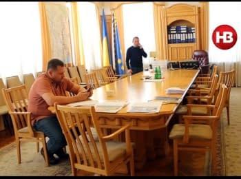Останній день Філатова в Дніпропетровській ОДА