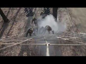 "Training camp of ""Azov"" regiment"