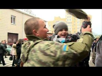 100 міліціонерів повернулися на Житомирщину із зони АТО