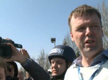 """Представитель ОБСЕ: """"Нас не пускают к границе с РФ"""""""