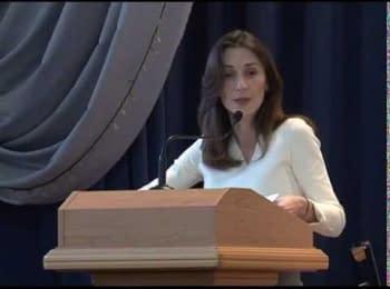 Екатерина Згуладзе про реформування МРЕВ, 04.04.15