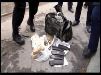 Man with a whole bag of grenades was detained in the center of Mykolaiv