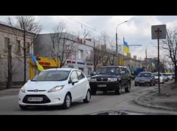 Automobile race in Severodonetsk, 05.04.2015