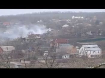 """Soldiers of the """"Azov"""" regiment repulsed a terrorists' attack in Shyrokyne"""