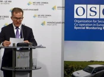 Оперативная информация по безопасности в Украине и деятельности СММ ОБСЕ, 09.04.2015