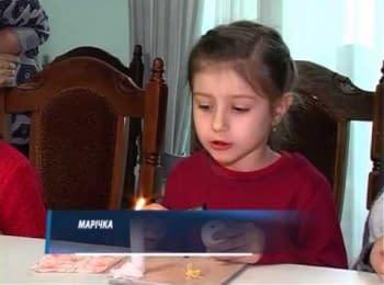 Майстер-клас з писанкарства для дітлахів зі Слов'янська