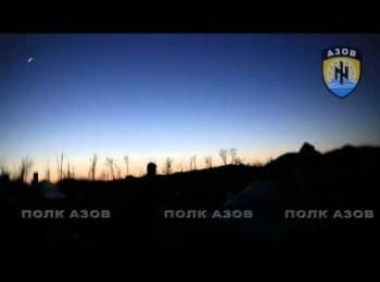 """Holidays of regiment """"Azov"""" in Shyrokyne village"""