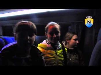 Мариупольские школьники вернулись после празднования Пасхи на Львовщине