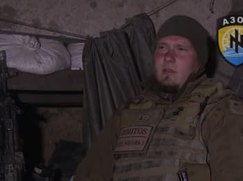 """Reportage from the trenches of """"Azov"""" regiment"""