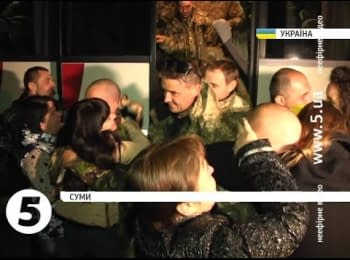 50 soldiers of the 15th infantry battalion returned from Donbas