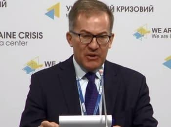 Оперативная информация по безопасности в Украине и деятельности СММ ОБСЕ, 16.04.2015