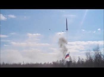 Невдалі випробування ракети в РФ (нецензурна лексика, 18+)