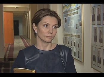 Olena Bondarenko submitted to the Interior Ministry statement about threats