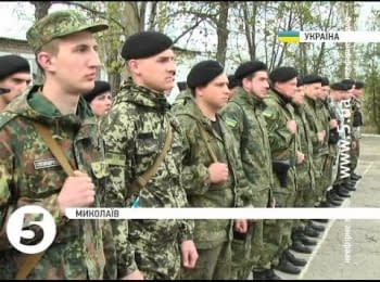 "30 soldiers of the battalion ""Mykolaiv"" returned home from ATO"
