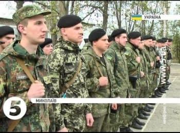 """30 бійців спецбатальйону """"Миколаїв"""" повернулися додому з АТО"""