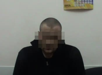 SBU detained a militant who was going to supply weapons to Mykolaiv