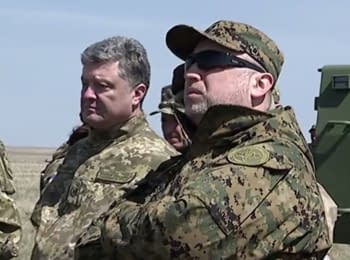 Secretary of the National Security Council participated in a military tactical trainings in Mykolayiv region