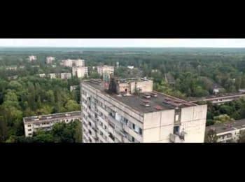 Прип'ять, Чорнобиль (зйомка з безпілотника)