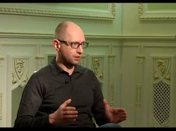 Arseniy Yatsenyuk - interview to Channel 5, 26.04.15