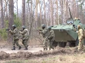 """State border"": Training of mobilized soldiers in Orshanka"