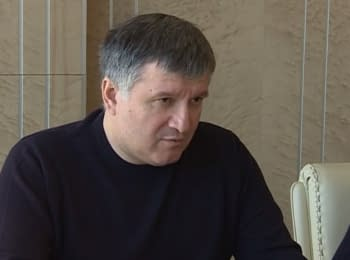 """Arsen Avakov: """"Vehicles must have only state registration plates"""""""