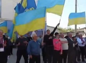 """Автопробіг """"За єдину Україну"""" на Луганщині, 07.05.2015"""