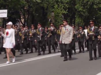Парад оркестров к 9 мая