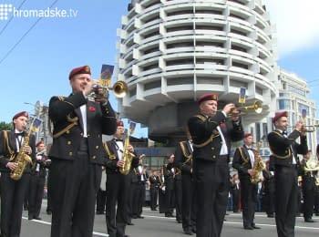 Українські та закордонні оркестри виступили на площі Слави