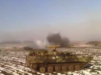 Прорив колони українських військових з Дебальцевого