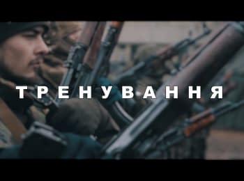 """Тренировочный лагерь полка """"Азов"""" в Киеве"""