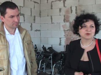 German volunteer brought three minibuses of humanitarian aid to Zhytomyr