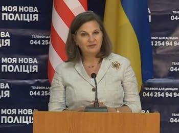Вікторія Нуланд підбила підсумки свого візиту в Україну