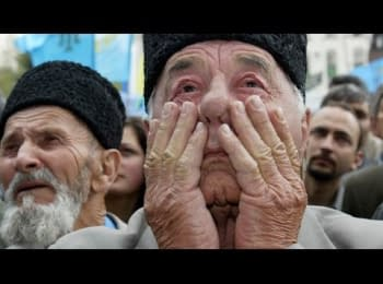 Акція солідарності з кримськими татарами (пряма трансляція Радіо Свобода)