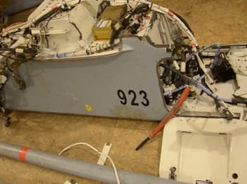 У зоні проведення АТО українські силовики збили російський безпілотник