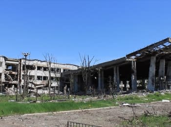 Dead bodies again recovered from the rubbles in the Donetsk airport