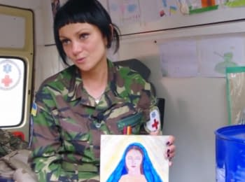 """""""I work at the East at the call of soul"""" - military doctor Natalya Nazar"""