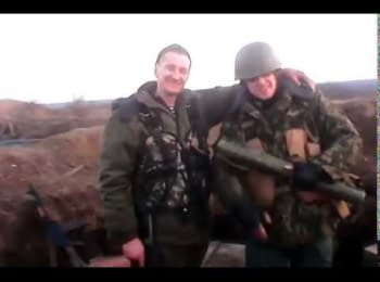 Російські найманці передають привіти Єкатеринбургу і Калінінграду