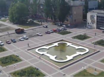 Мелітополь, площа Перемоги