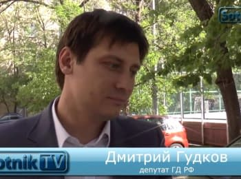 "State Duma deputy Dmitry Gudkov: ""The elite began to split"""