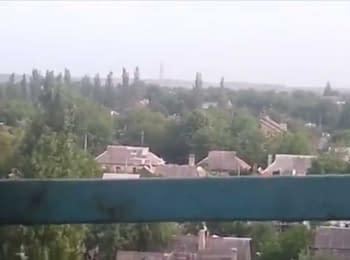 Gorlivka's shelling, 26.05.15